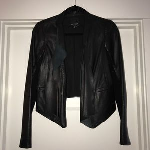 Trouve Leather Jacket XS